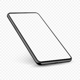 Smartphone realistische vorlage