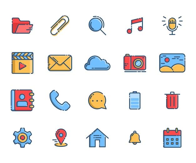 Smartphone-symbole