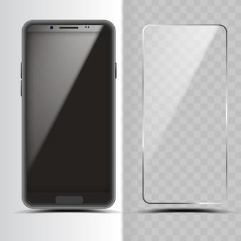 Smartphone und displayschutzfolie