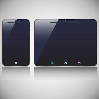 Smartphone und tablet aus
