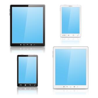 Smartphone und tablet pc