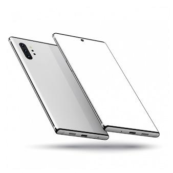 Smartphone vorne und hinten