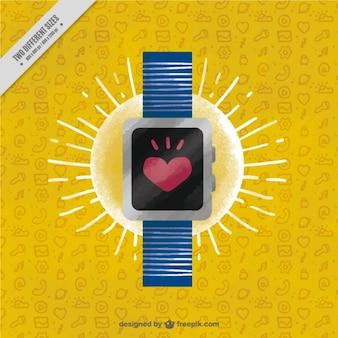 Smartwatch hintergrund