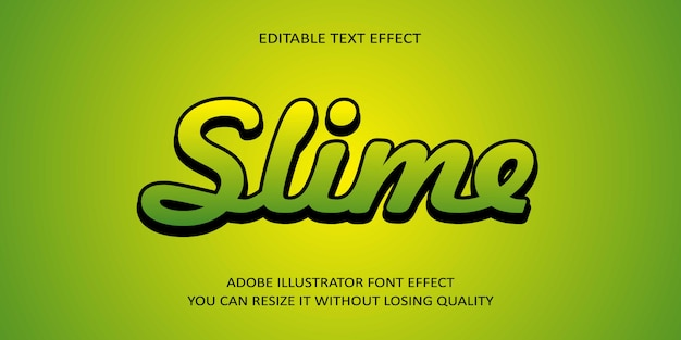 Smile text effect schriftart