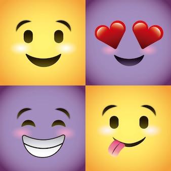 Smiley setzte emotionen