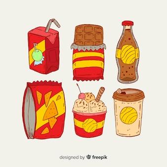 Snacks-sammlung