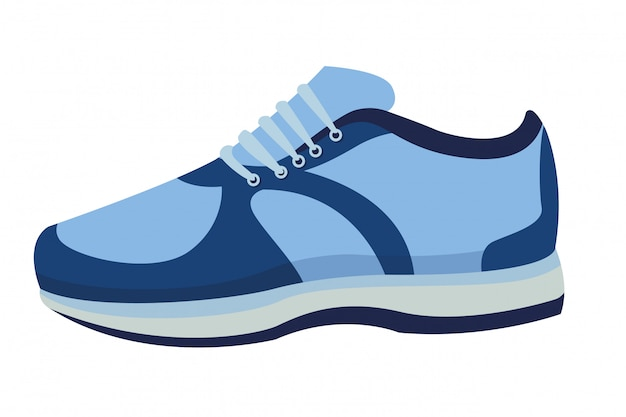 Sneaker mit schnürsenkel
