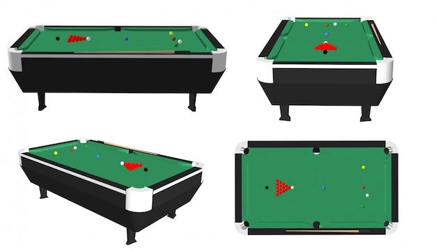 Snooker-tisch