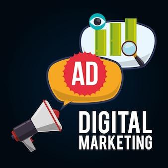Social advertising und digital marketing design