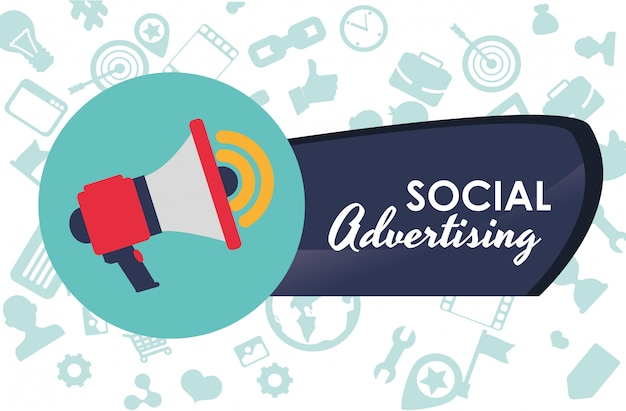 Social advertising und marketing online