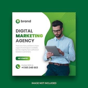 Social business marketing social media banner vorlage