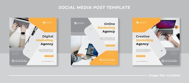 Social business marketing social media beitragsvorlage