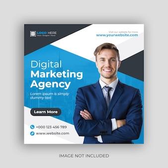 Social-media-banner der agentur für digitales marketing