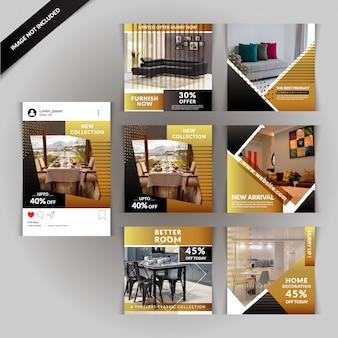 Social media-beitrag für immobilien