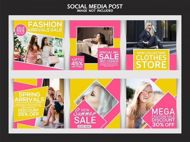 Social media beitragssammlung