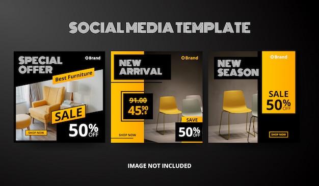 Social-media-beitragsvorlagensammlung