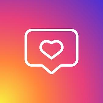 Social-media-benachrichtigung