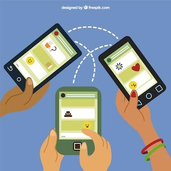 Social-media-handys