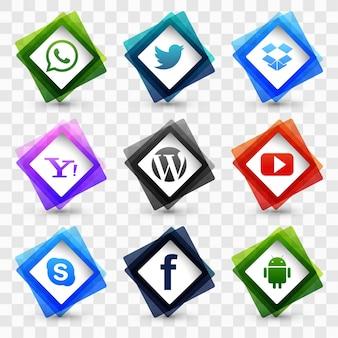 Social media icon-set