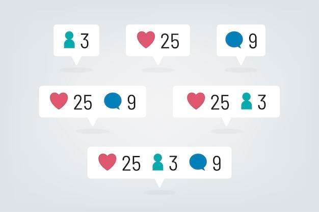 Social media-icon-set