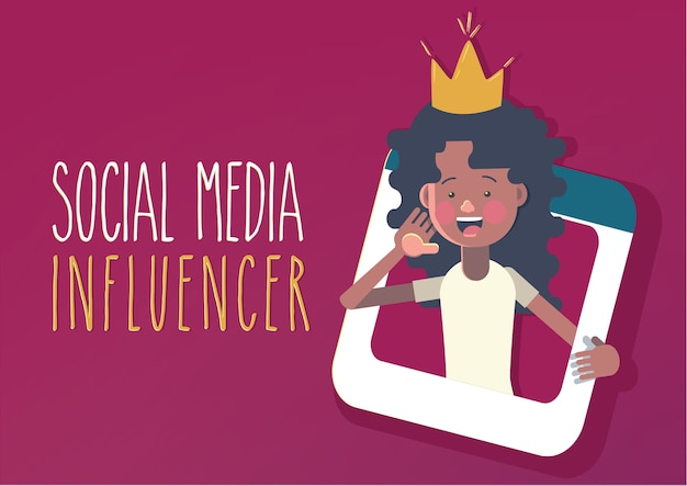Social-media-influencer-konzept