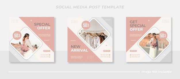 Social-media-instagram-post-template-sammlung