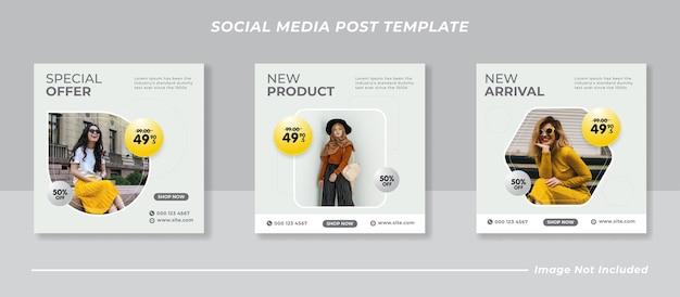 Social-media-instagram-post-vorlagensammlung