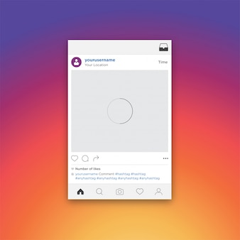 Social media-konzeptfoto, das mobile app teilt