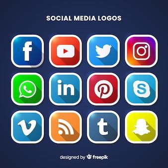 Social-media-logo collectio