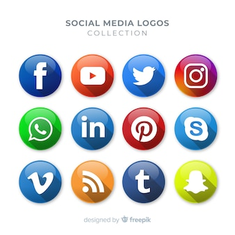 Social-media-logo collectio