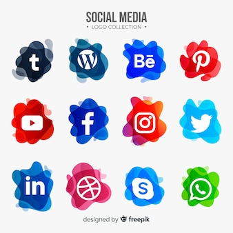 Social-media-logo-sammlung