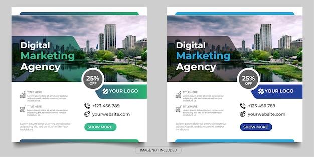 Social-media-post der agentur für digitales marketing