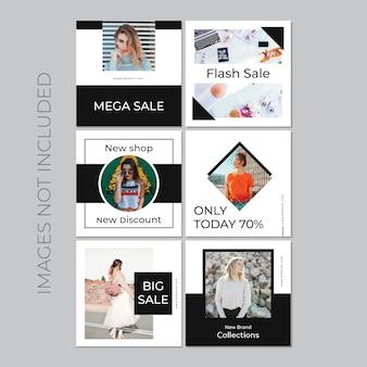 Social media post für digitales marketing