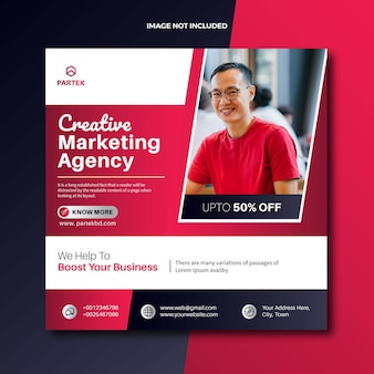 Social-media-posting-webbanner der agentur für digitales marketing