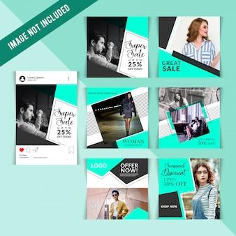 Social Media Shopping Pack für Instagram