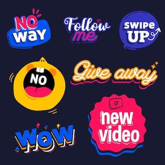 Social media slang blasen