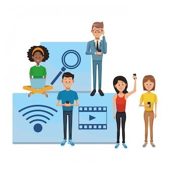 Social network-technologie