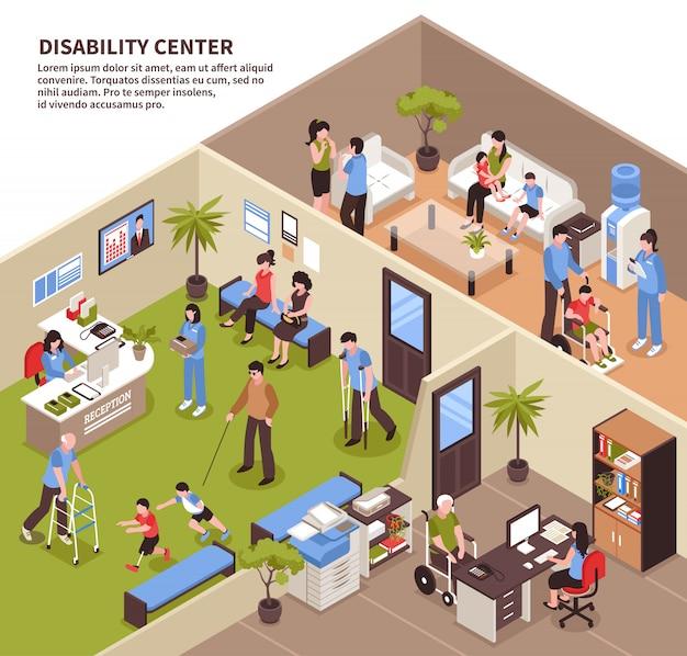 Social service center