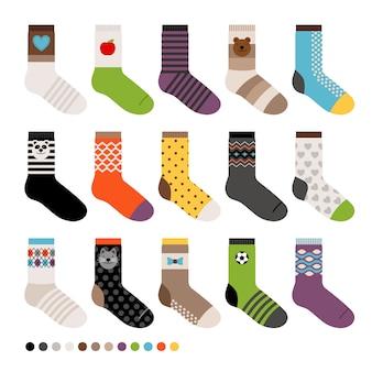 Socken-kollektion