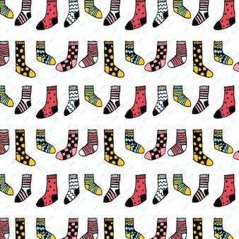Socken muster