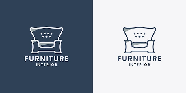 Sofamöbel-logo-design-eigentumswohninnenraum