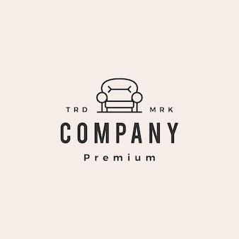 Sofamöbelinnen-hipster-vintage-logo-vorlage