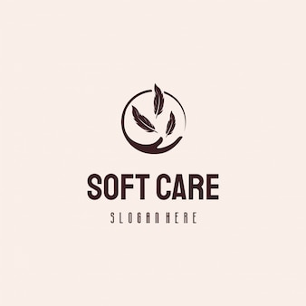 Soft care logo design