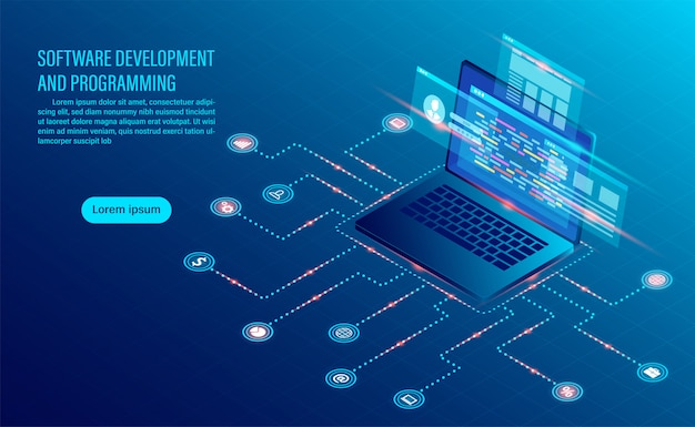 Softwareentwicklungscodierung und geschäftsanalyse