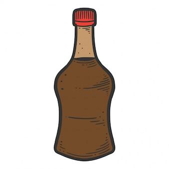Sojasauce flasche