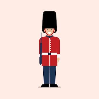 Soldat der britischen armee