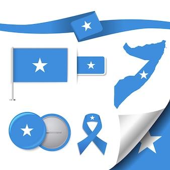 Somalia repräsentative elemente sammlung