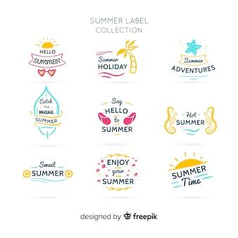 Sommer-abzeichen-sammlung