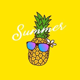 Sommer ananas