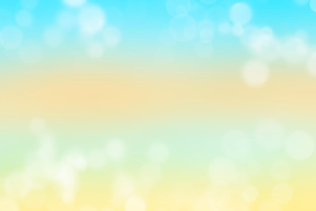 Sommer bokeh-effekt hintergrund